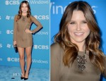 Sophia Bush In Olcay Gulsen - CBS 2012 Fall Premiere Party