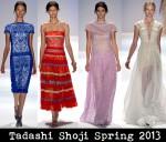 Tadashi Shoji Spring 2013