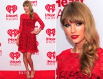 Taylor Swift In French Connection - 2012 iHeartRadio Music Festival