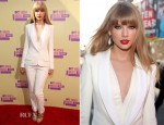 Taylor Swift In J. Mendel - 2012 MTV Video Music Awards