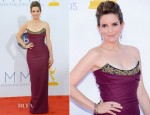 Tina Fey In Vivienne Westwood - 2012 Emmy Awards