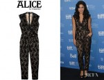 Vanessa Hudgens' Alice by Temperley Kitty Lace Jumpsuit