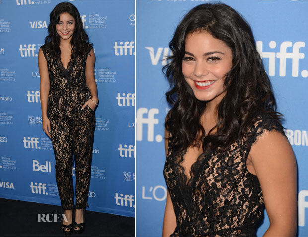 Vanessa Hudgens In Alice By Temperley - 'Spring Breakers' Toronto Film Festival