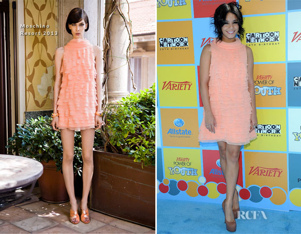 Vanessa Hudgens In Moschino - Variety's 6th Annual Power Of Youth Event