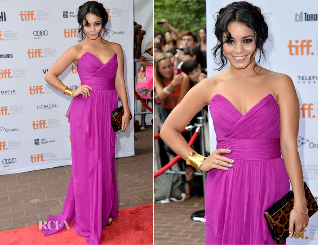 Vanessa Hudgens In Notte by Marchesa - 'Spring Breakers' Toronto Film Festival Premiere