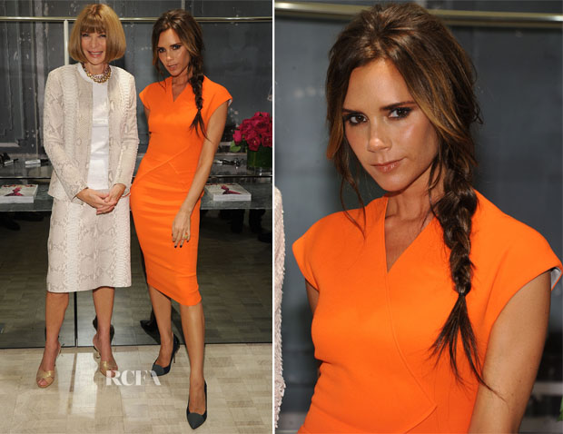 Victoria Beckham In Victoria Beckham - Bergdorf Goodman Celebrates Fashion's Night Out