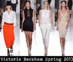 Victoria Beckham Spring 2013