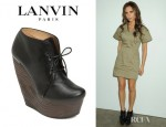 Victoria Beckham's Lanvin Crazy Oxford Wedges