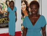 Viola Davis In Alberta Ferretti - 'Won't Back Down' New York Premiere
