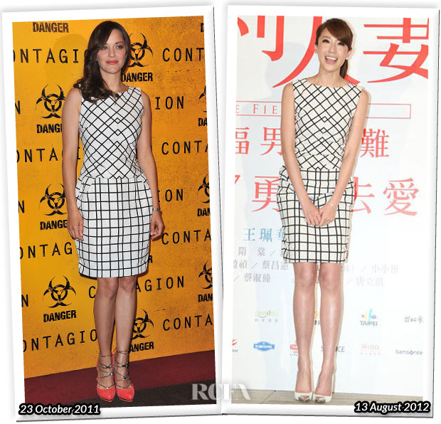 Who Wore Christian Dior Better Marion Cotillard or Sonia Sui