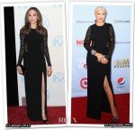 Who Wore Michael Kors Better...Angelina Jolie or Christina Aguilera?
