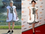 Zhou Xun In Chanel - 'Cloud Atlas' Toronto Film Festival Premiere