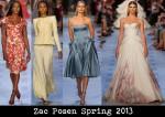 Zac Posen Spring 2013