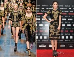 Zhang Zilin In Dolce & Gabbana - 2012 Bazaar Charity Night
