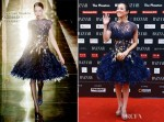 Zhang Ziyi In Georges Chakra Couture - 2012 Bazaar Charity Night