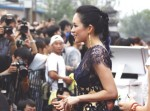 Zhang Ziyi in Georges Chakra Couture
