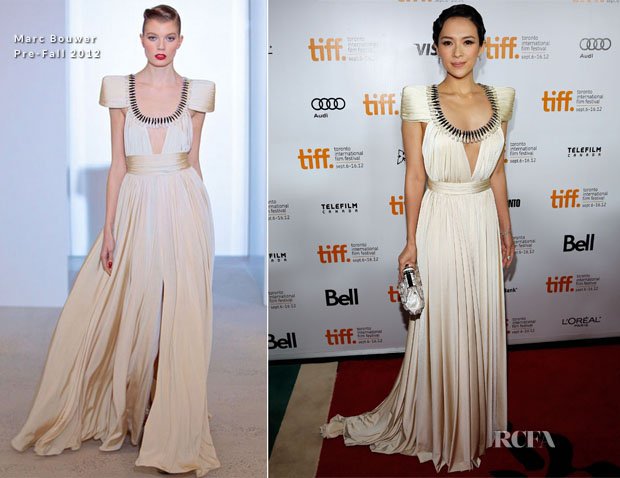 Ziyi Zhang In Marc Bouwer - 'Dangerous Liaisons' Toronto Film Festival Premiere