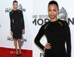 Zoe Saldana In Stella McCartney -  'The Book Of Mormon' Los Angeles Opening Night