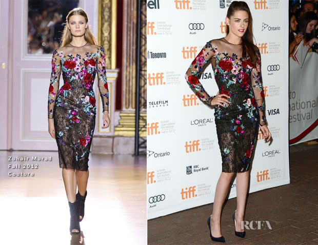 Kristen Stewart In Zuhair Murad - 'On The Road' Toronto Film Festival Premiere