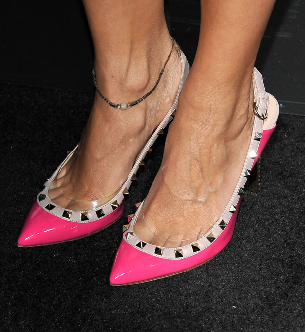 Rashida Jones' Valentino shoes