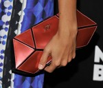 Rashida Jones' Roger Vivier clutch