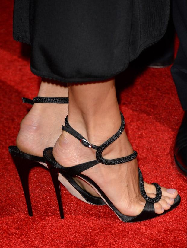 Stacy Keibler's Giuseppe Zanotti sandals