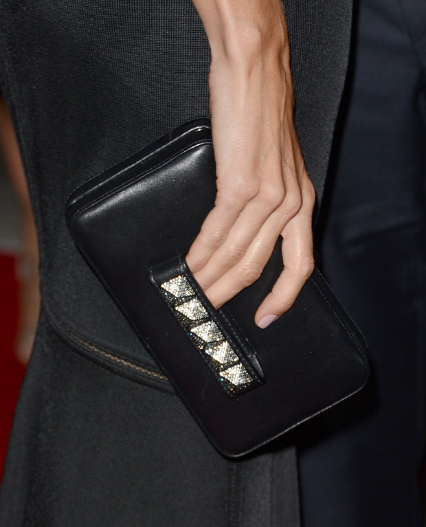 Stacy Keibler's  Valentino clutch