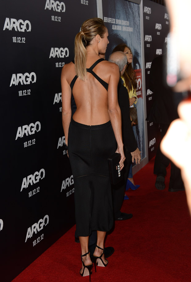 Stacy Keibler in Azzedine Alaia