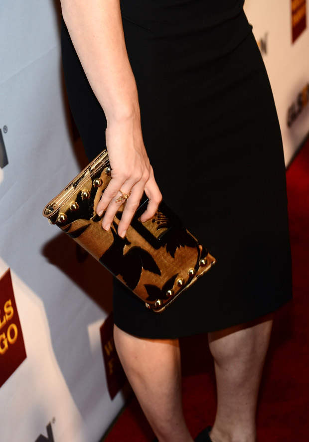 Amy Adams' Roger Vivier clutch