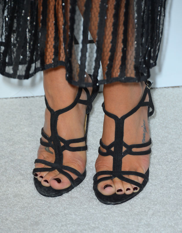 Lea Michele's sandals