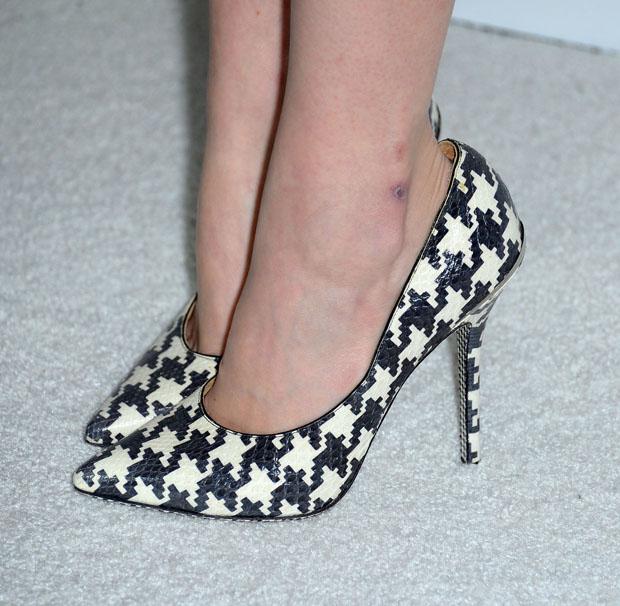 Emma Stone's Ferragamo pumps
