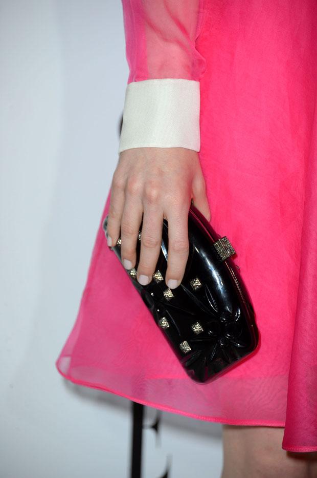 Emma Stone's Valentino clutch