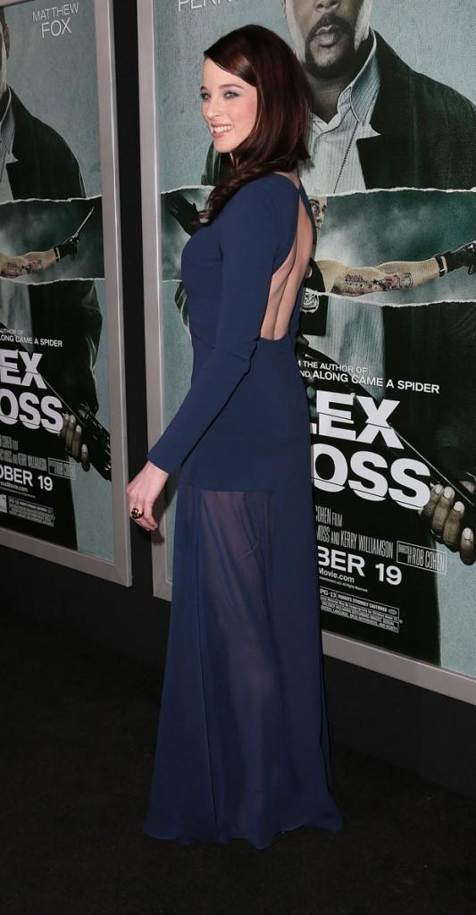 Rachel Nichols in DKNY