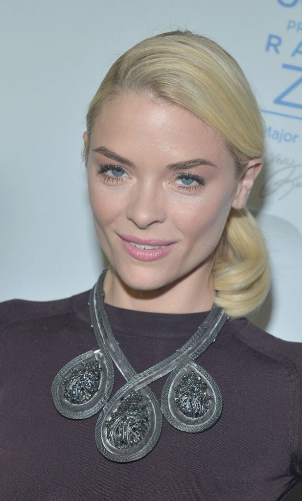 Jaime King in Christian Dior