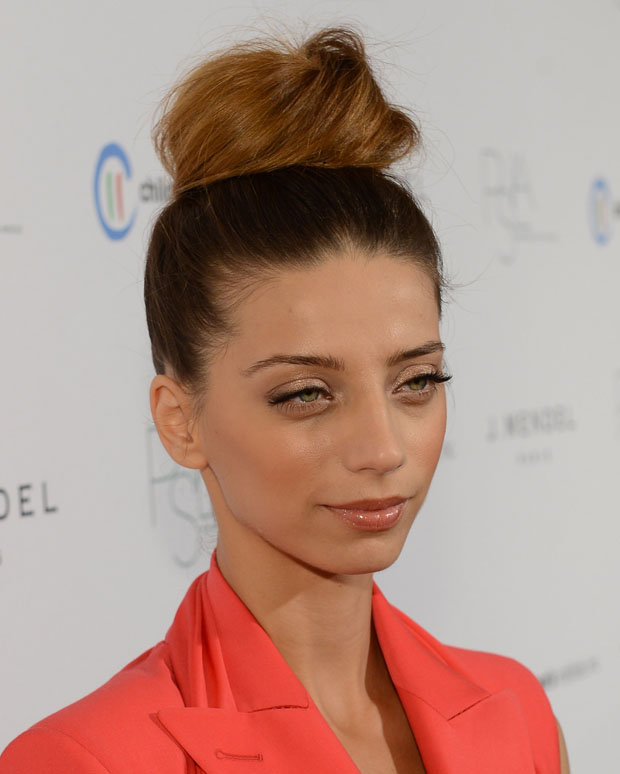 Angela Sarafyan in Jean Paul Gaultier