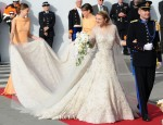 Princess Stephanie of Luxembourg In Elie Saab Couture - Royal Wedding
