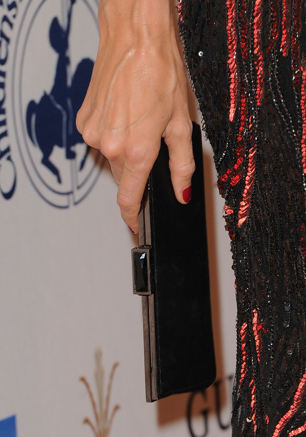 Stacy Keibler's Judith Leiber clutch
