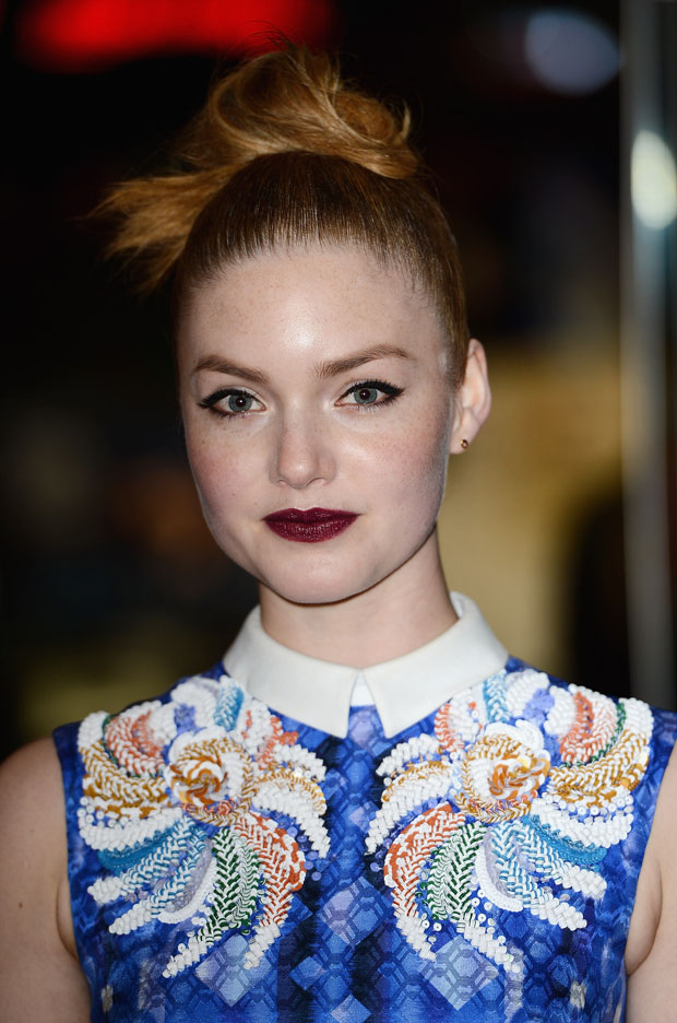 Holliday Grainger in Peter Pilotto
