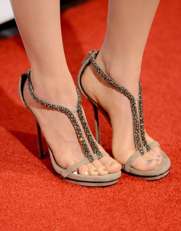 Bella Heathcote's Gucci sandals