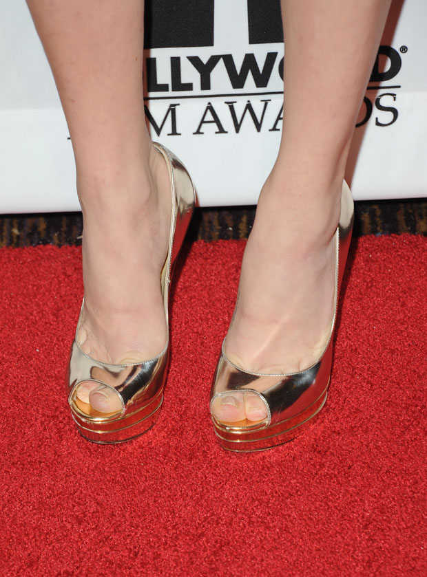 Amanda Seyfried's Jimmy Choo shoes