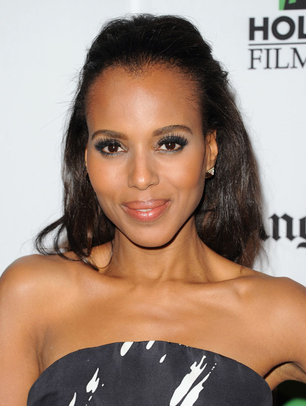 Kerry Washington  in Monique Lhuillier