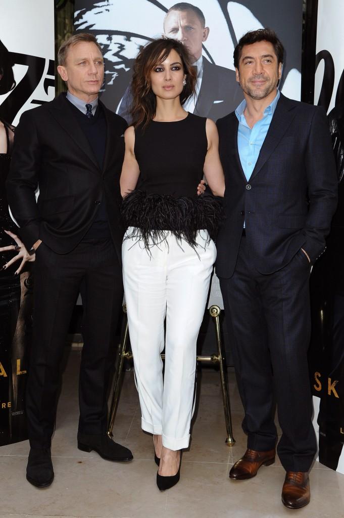 Berenice Marlohe in Alexander McQueen