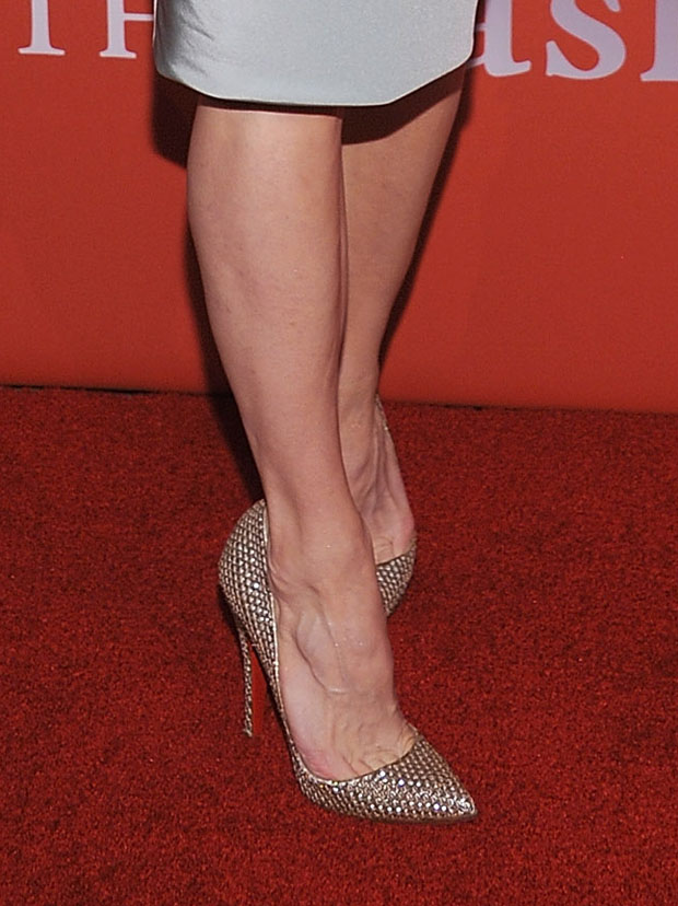 Renee Zellweger's Christian Louboutin pumps
