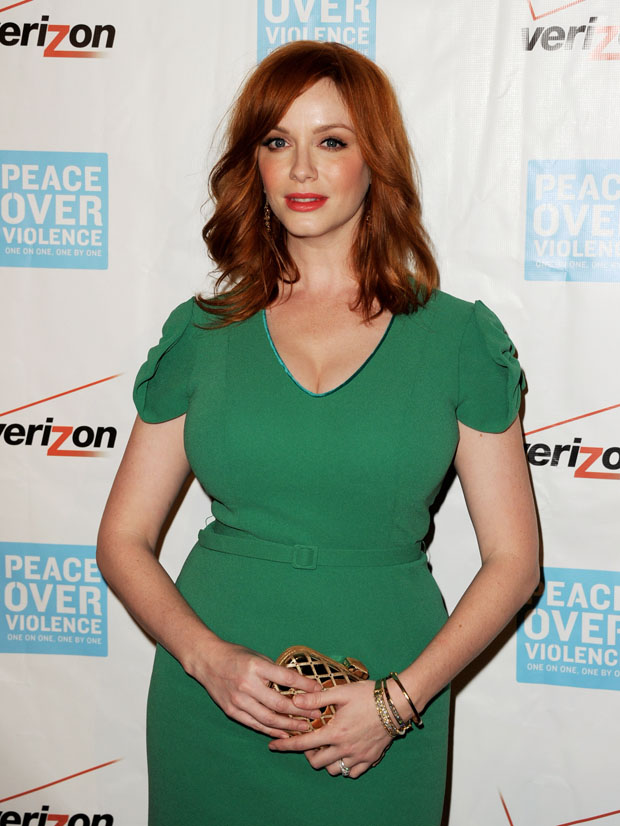 Christina Hendricks in L'Wren Scott
