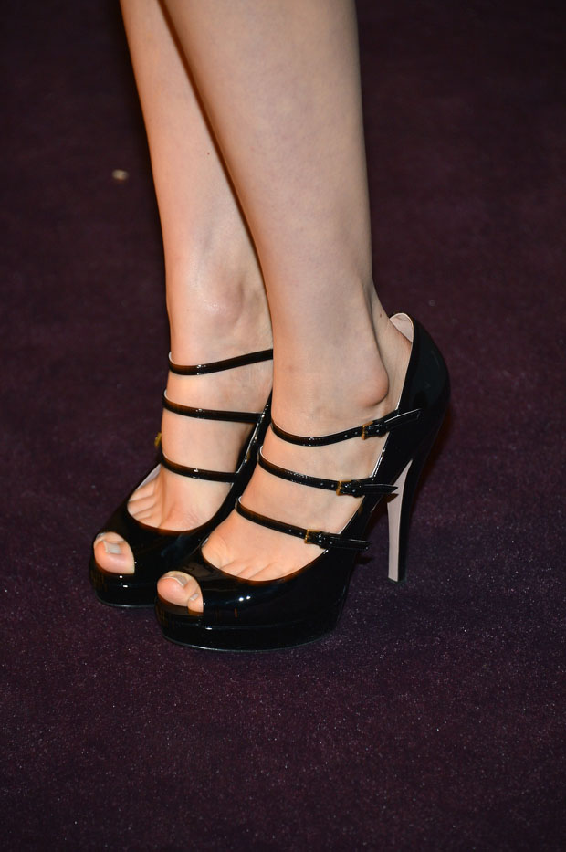 Bella Heathcote's Gucci shoes