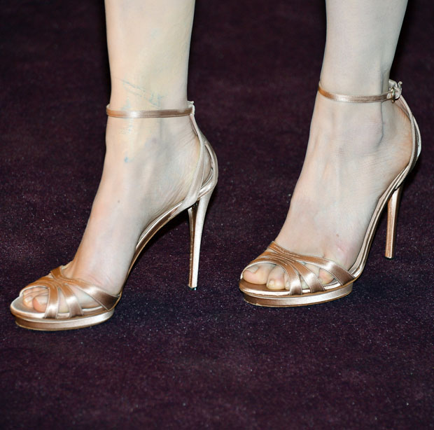 Evan Rachel Wood's Gucci shoes