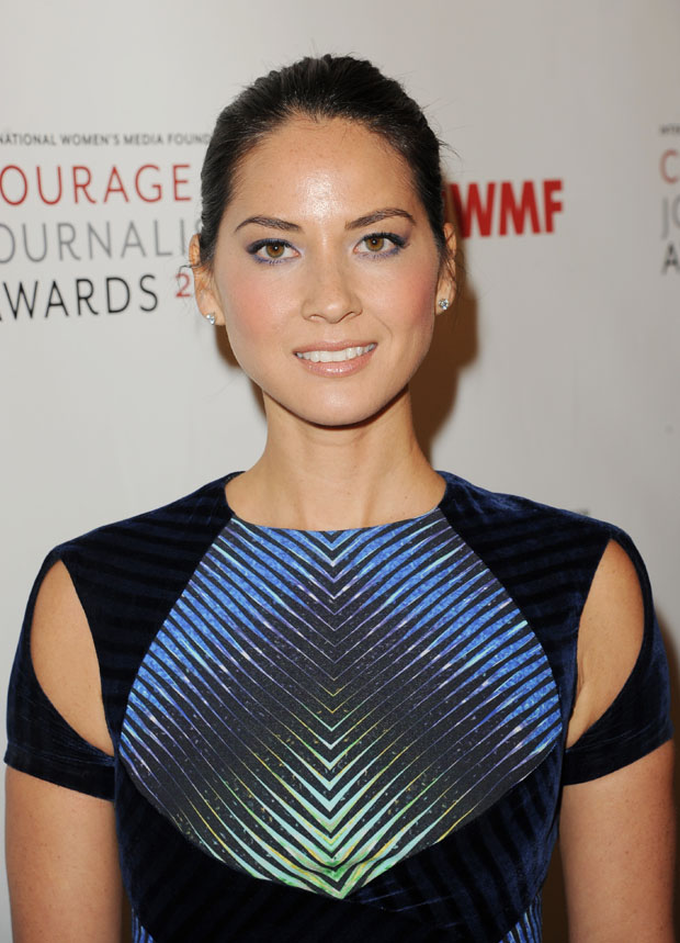 Olivia Munn in Peter Pilotto