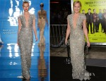 Abbie Cornish In Reem Acra - 'Seven Psychopaths' LA Premiere