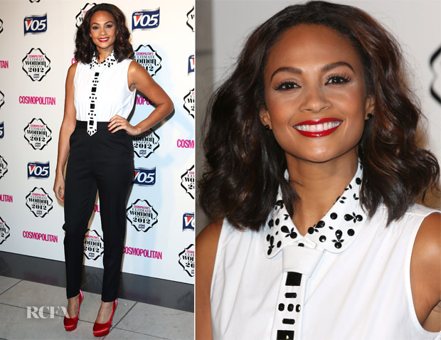 Alesha Dixon In Gerard Darel & Stella McCartney - Cosmopolitan Ultimate Women Of The Year Awards