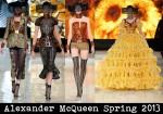 Alexander McQueen Spring 2013